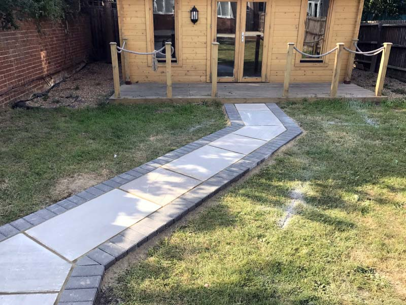 Block Paving, Landscaping and Patio Project