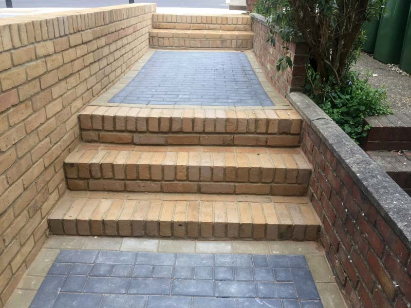 Block Paving, Driveway and Steps Project