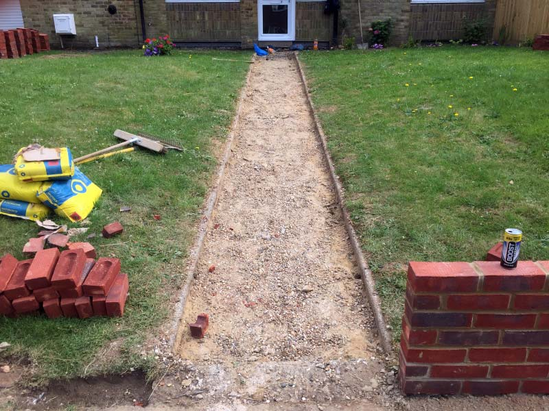 Block Paving, Driveway and Wall Project