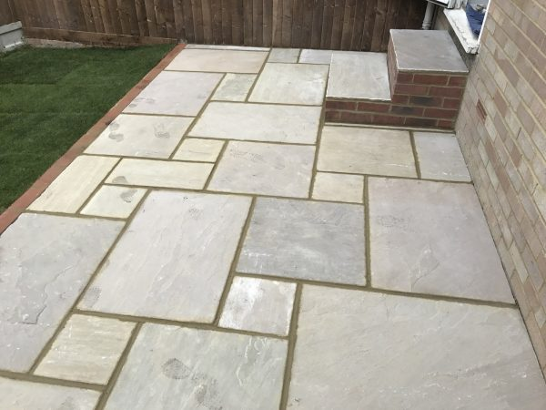 Patio, Landscaping and Fencing Project