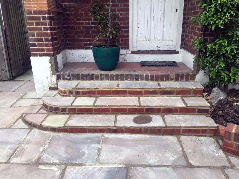 Steps, Driveway and Wall Project