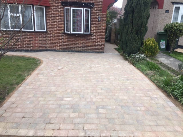 Front Block Paving