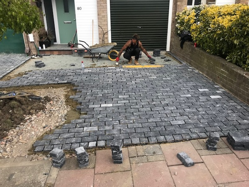 Cobble Stone Driveway in Kent