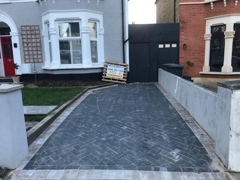 Kent Block Paving Driveway